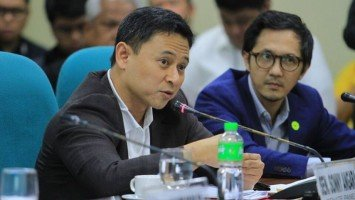 Senator Sonny Angara is the third solon who has contracted COVID-19