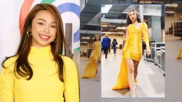Maymay Entrata praised by beauty queens for runway walk