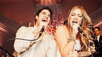 SPOTTED: Darren Criss wore a Francis Libiran barong to his wedding