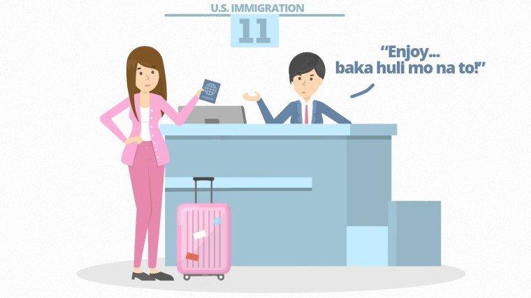 Actor-politician's wife, napagbuntunan ng inis ng immigration officer sa Amerika