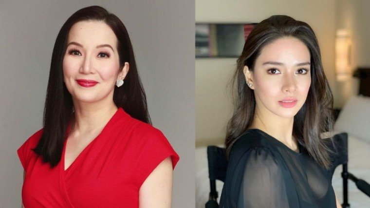 Last night, Kris Aquino couldn't help but air her opinion on the Bea-Gerald-Julia issue when a Netizen left a comment, involving her  friend Erich Gonzalez, the issue. The comment appeared below her latest Instagram photo posting with Erich.