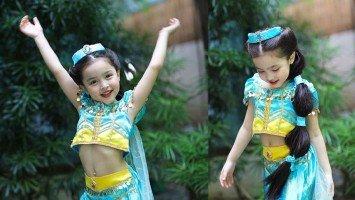 Pika's Pick: Marian Rivera posts Zia's highly-anticipated annual Halloween costume! She's Princess Jasmine this year!
