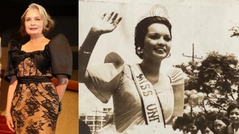 Margie Moran did a throwback last Tuesday by sharing photos from her 1973 Miss Universe homecoming!