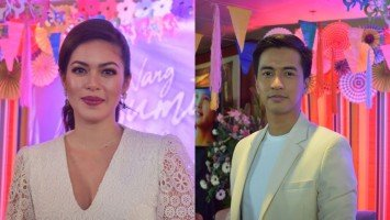 Shaina Magdayao and RK Bagatsing share opinions on social media usage