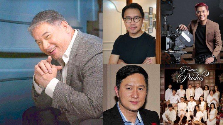 """""""I am really thankful kay Direk Kaizz (Eric Quizon)...kay Direk Eric who accepted the project. But I'm also very thankful to Direk Ricky (Davao) kasi he really did come here as an actor and he saw na kailangan ng tulong and hindi s'ya nagdalawang isip na tumulong sa amin kaya naitawid...""""—Direk Perci Intalan  (Clockwise from left: Ricky Davao, Perci Intalan, Jun Lana, and Eric Quizon)"""