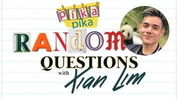 Xian Lim answers 19 Random Questions from Pikapika!