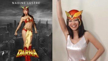 Nadine Lustre screams iconic line 'Darna!'