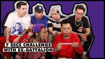 WATCH: Ex Battalion plays 7 seconds challenge