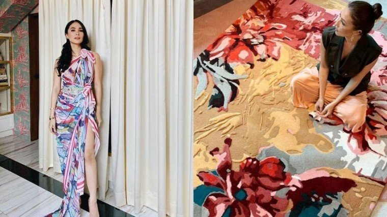 Who says you can't paint on just about anything? Take a look at celeb painters Heart Evangelista, Solenn Heussaff, and Lucy Torres-Gomez who veered away from the usual canvas to express themselves!
