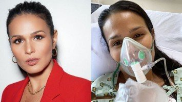 """Iza Calzado recalls experience of being diagnosed with COVID-19; reveals having thoughts if it was """"her time."""""""