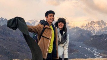 LOOK: Mikael Daez and Megan Young go hiking in Iceland