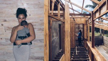 Gwen Zamora shares a sneak peek of her future family cabin