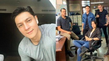 Joseph Marco is shooting for his first international project in Kuala Lumpur!