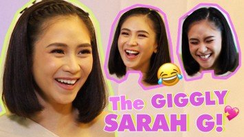 WATCH: The Giggly Sarah G.