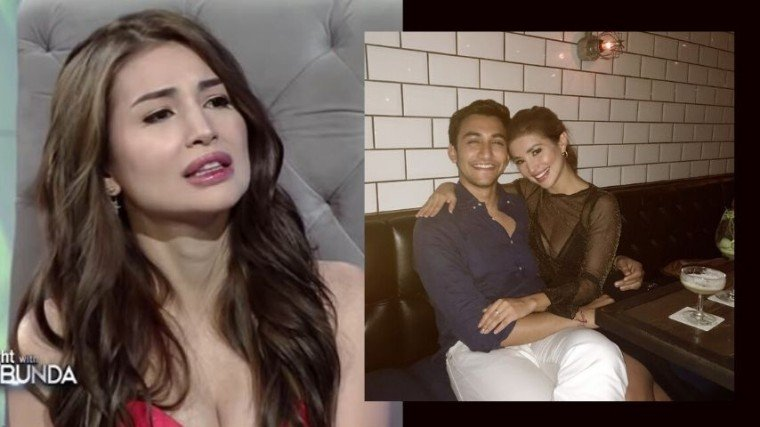 Nathalie Hart confesses to Tito Boy that she has separated her ways with her non-showbiz partner.