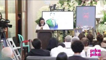 "Eddie Garcia Eulogy Series |  Family friend Peewee Lagman-Lapid ""Heaven must have welcomed you with a standing ovation…"""