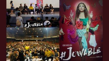 Advanced screening ng #Jowable sa UP, dinagsa ng millennials;  tawa-iyak reviews, dumagsa rin