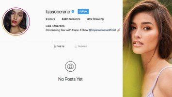 [UPDATED] Liza archives all her Instagram posts