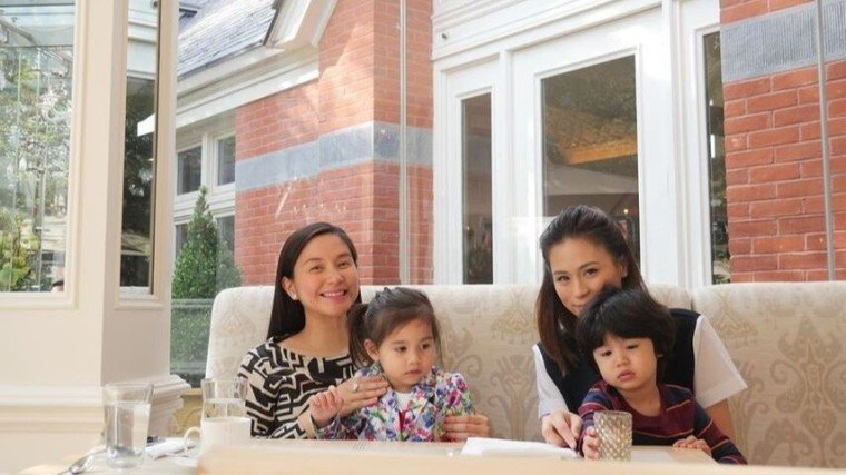 Toni and Mariel, along with their respective kids, spent some quality time abroad.