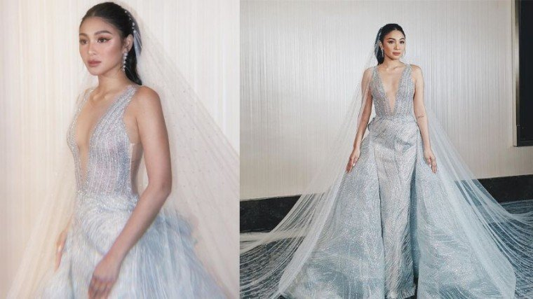 Nadine Lustre joins a bridal fashion show recently as a muse of young fashion designer Michael Leyva. And we can't get enough of her wedding look!