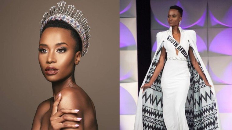 Miss South Africa Zozibini Tunzi hailed as the new Miss Universe! Congratulations!