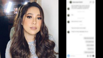 "Moira Dela Torre uses this song lyrics as her reply to basher: ""Di ko ipipilit sa'yo…"""