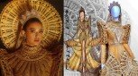 "Michelle Dee will wear Libiran's ""The Philippine Sun Princess"" gown for the Miss World pageant"