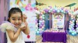 Zia Dantes gets an advance 4th birthday celebration