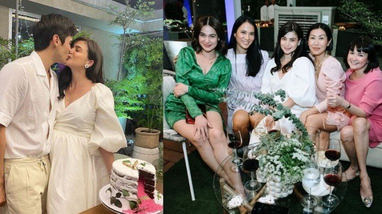 Anne Curtis and Erwan Heussaff threw a rustic-themed baby shower and gender reveal party!
