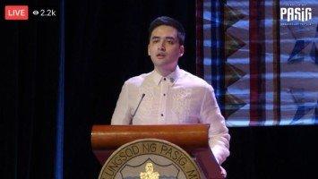 Mayor Vico Sotto, namudmod ng kredito sa mga katuwang sa pamumuno ng Pasig City sa kanyang kauna-unahang SoCA (State of the City Address)