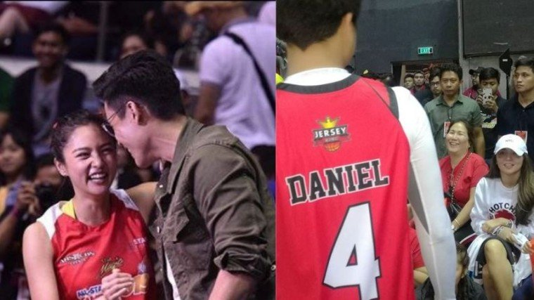 KathNiel and KimXi give kilig vibes to their fans when Kathryn and Xian showed support towards their competing sweethearts at the Star Magi All-Star Games last Sunday!
