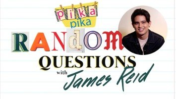 James Reid answers random questions from Pikapika!