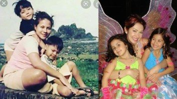 Pika's Pick: Karla Estrada and Ruffa Gutierrez go nostalgic as they post old photos with their used to be babies—DJ and JC for Karla, Lorin and Venice for Ruffa