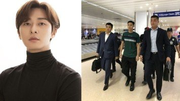 LOOK: Korean actor Park Seo Joon arrives in Manila for fan meeting!