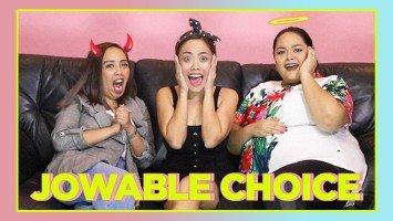 Kim Molina, Kakai Bautista, and Cai Cortez play the #Jowable's Jowable Choice