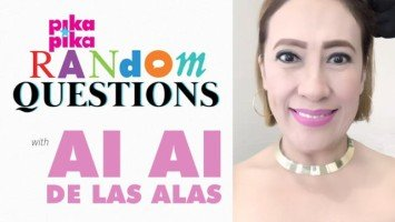 Ai-Ai delas Alas answers random questions from Pikapika!
