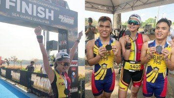 Kim Chiu inspired by blind triathletes to strongly complete duathlon