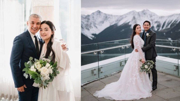Albert Martinez's youngest daughter Alissa ties the knot with partner in Canada.