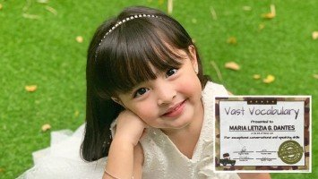 Marian Rivera shows off her daughter Zia's award on IG