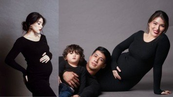 LOOK: Kylie Padilla flaunts growing baby bump in maternity shoot!