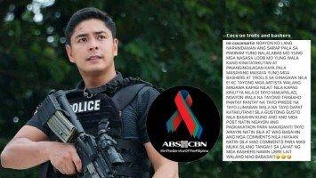 Coco Martin, hindi pa hupa ang galit at panlulumo dahil sa pagsasara ng ABS-CBN; mga trolls at bashers, nireresbakan