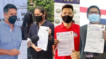LOOK: Celebrities and political figures file their certificate of candidacy for the 2022 elections (Part 2)