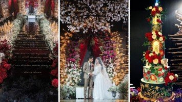 All the dreamy details at Kylie Padilla & Aljur Abrenica's wedding