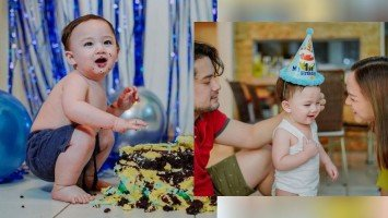 Pika's Pick: Geoff Eigenmann and Maya Flores' baby boy, Augustus Geoffrey, turns 1 today!