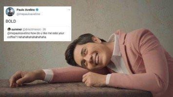 Paulo Avelino sets Twitter on fire with 'flirty' tweet replies to fans