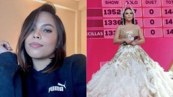 Kapuso singer Hannah Precillas wins 2nd runner-up in the Indonesian talent search D' Academy