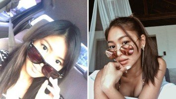 The then and now of Nadine Lustre