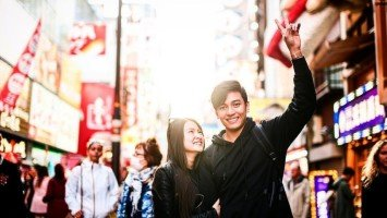 LOOK: Jak Roberto and Barbie Forteza's sweet photos in Japan
