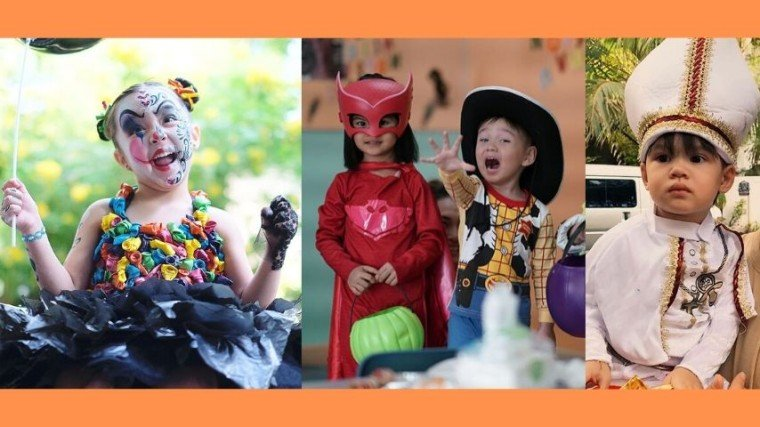 Celebrity kids look adorable in their Halloween costume, thanks to their creative parents!