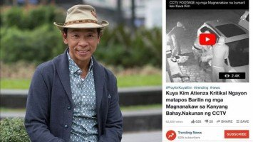 Kuya Kim Atienza shoots down fake news saying he was in critical condition to pacify alarmed friends